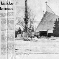 Pyhäjoen uusi kirkko käyttöön joulukuussa