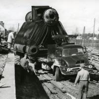 Töitä Orimattilan sahalla 1950-luvulla