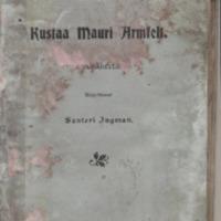 Kustaa Mauri Armfelt : elämäkerta