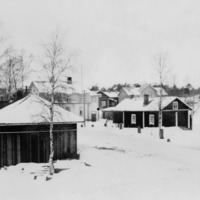 Vinkkilän keskustaa ennen vuotta 1946