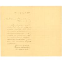Werner Söderströmin kirje Eino Leinolle
