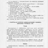 Mäntsälän kunnan kunnalliskertomus 1972 : Osa 2/2