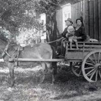 (1631) Pitk+ñj+ñrven savikuppikauppias Kalle Ruoho perheineen 1925.jpg