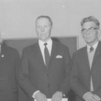 Sotainvalidien Veljesliiton Pohjois-Savon piirin vuosikokouksessa 1974