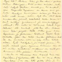 Eino Leinon kirje Olga Kyreniukselle