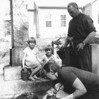 Suntio Matti Nuutinen perheineen 1966