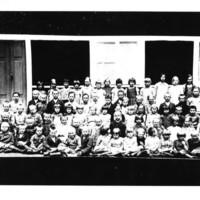 Oppilaita vuodelta n. 1932(?)