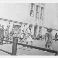 Nelimaalipeli käynnissä Iisalmen tyttölyseolla