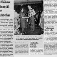 """Kauppias Perkiömäki: """"Ei nykyisin enää tingata tositarkoituksella"""""""
