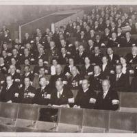 Rintamamiesten juhlat Turun teatterissa 1938