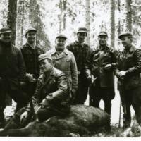 Orimattilalainen hirviporukka 11.11.1963