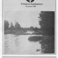 Pyhäjoen Kuulumiset : Syyskuu 1989