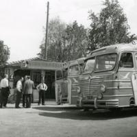 Pohjoismaista osuuskauppaväkeä Orimattilassa (NAF) 26.6.1958