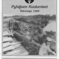 Pyhäjoen Kuulumiset : Rakentaja 1989