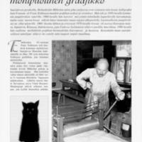 Frans Toikkanen monipuolinen graafikko