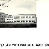 Mäntsälän yhteiskoulu XXIII 1967-1968
