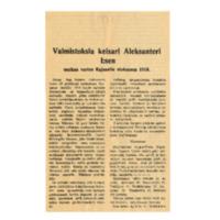 Valmistuksia keisari Aleksanteri Isen matkaa varten Kajaaniin elokuussa 1819.pdf