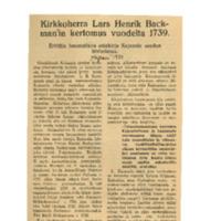 Kirkkoherra Lars Henrik Backman'in kertomus vuodelta 1739.pdf