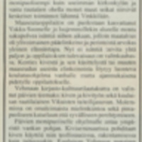 Vehmaa valmiina Vakka-Suomen päiville