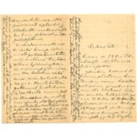 Oskar Lönnbohmin kirje Olga Kyreniukselle