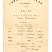 Industriskolan i Helsingfors, betyg