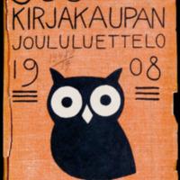Suomen kirjakaupan joululuettelo 1908