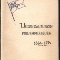 Uudenkaupungin purjehdusseura 1884-1934