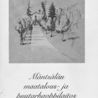 Mäntsälän maatalous- ja puutarhaoppilaitos 1940-1990