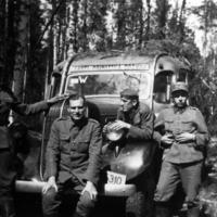 Lehtisen Studebaker sodassa