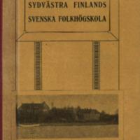Sydvästra Finlands svenska folkhögskola: 1903-08