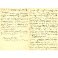 Eino Leinon kirje Berliinistä Olga Kyreniukselle