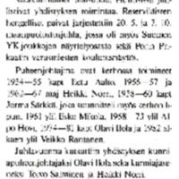 Huittisten Reserviupseerikerho r.y. täytti 30 vuotta