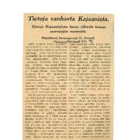 Tietoja vanhasta Kajaanista. Tietoja Kajaaninjoen luona olleesta linnan saarnaajan nurmesta.pdf