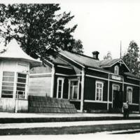 Orimattilan asema Käkelässä 1920-luvulla
