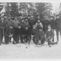 Iirannan jääpalloilijat 1930-luvulla