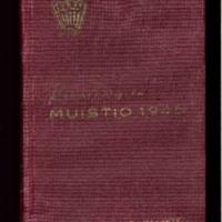"""""""Pinnebergien"""" muistio vuodelta 1945"""