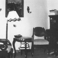 Pappilan salin kalustoa 1965