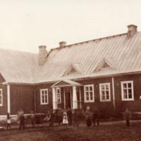 Koskusten kansakoulu 1940-luvun alussa