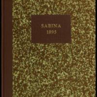 Sabina : juhlalehti julkaistu Turun kirjanpainajain-yhdistyksen arpajaisiin Sabinan-päivänä 27 p:nä lokakuuta 1895.