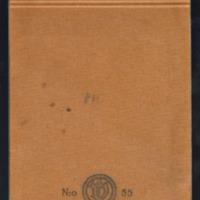 Novelleja. Käsikirjoituksia elo-lokakuu 1943<br /> Seitsemän miehen saappaat. Osa käsikirjoituksesta vuosilta 1943-1944