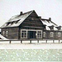 Someron Osuuskaupan toimitalo 1921