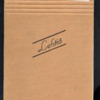 Kauneuden kirous. Osa käsikirjoituksesta joulukuu 1944 1/3