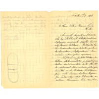 Santeri Alkion kirje Kasimir Leinolle