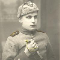 Armeijakuva Olavi Vanhahongosta Viipurin tykistössä