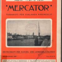 Mercator : tidskrift för Finlands näringsliv. Åbo nummer