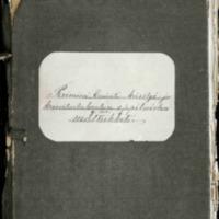 Paimion emäntä-, käsityö- ja kasvitarhakoulun oppilaiden matrikkeli 1880-1917 sekä päästötodistuksia vuosilta 1910-1918