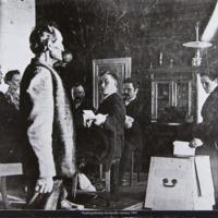 Vaalit Savijoella vuonna 1907