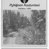 Pyhäjoen Kuulumiset : Heinäkuu 1989