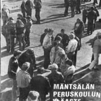 Mäntsälän peruskoulun yläaste 1978-1979 : Tiedote oppilaiden koteihin
