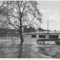 Paloisvirran silta Iisalmessa toukokuussa 1950